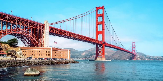 1. Golden Gate Bridge